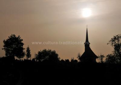 Felician Sateanu - Biserica monument - Culcea