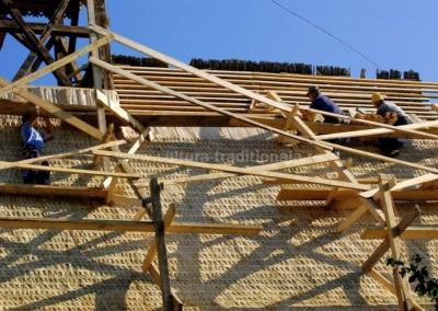Gheorghe_Petrila - Renovarea acoperisului - Sarbi