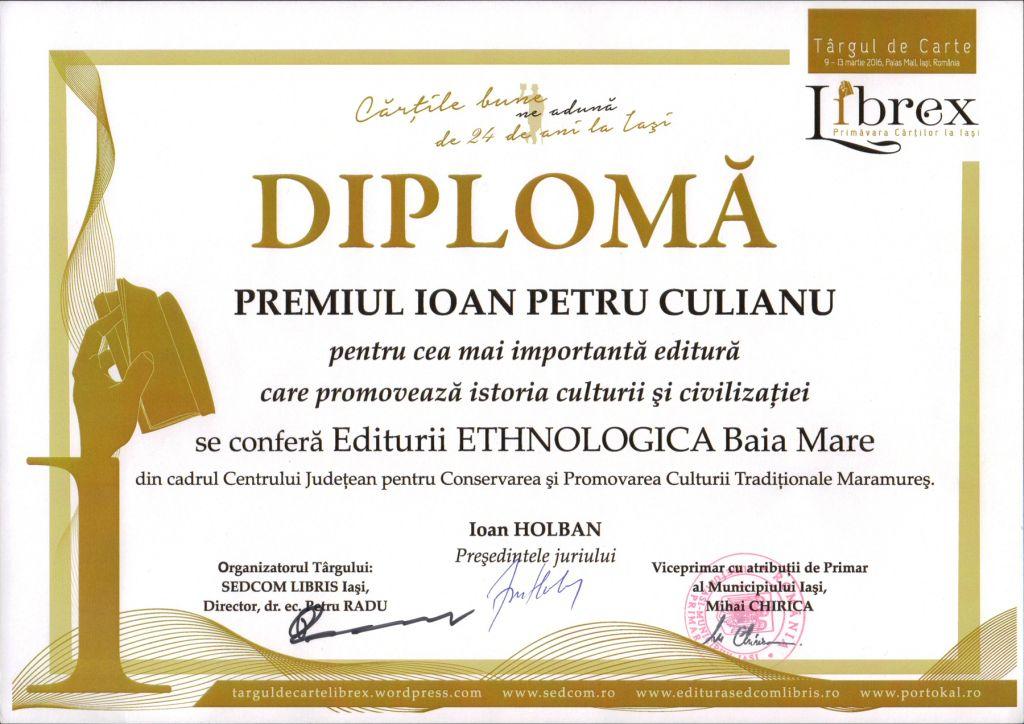 diploma premiu editura