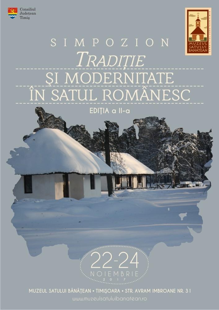 """Sesiune de comunicări ştiinţifice """"Tradiție și modernitate în satul românesc"""", Timişoara, 2017"""