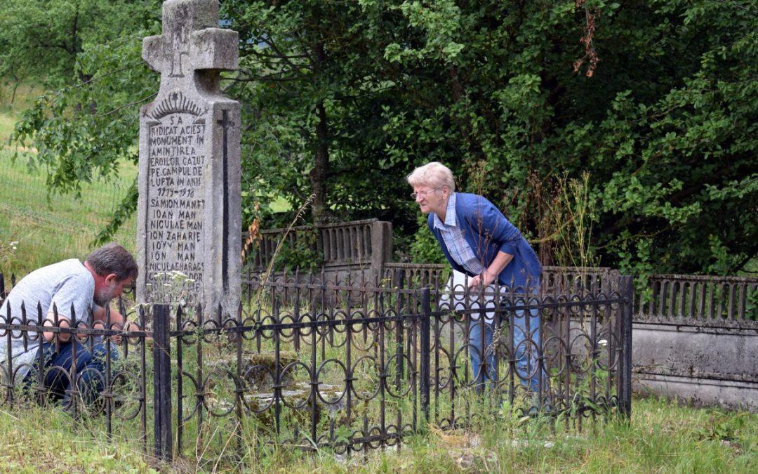 Inventarierea şi cercetarea monumentelor închinate eroilor din Primul Război Mondial din judeţul Maramureş