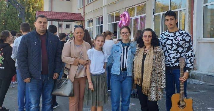 Participare la aniversarea a 50 de ani de activitate a Școlii gimnaziale George Coșbuc