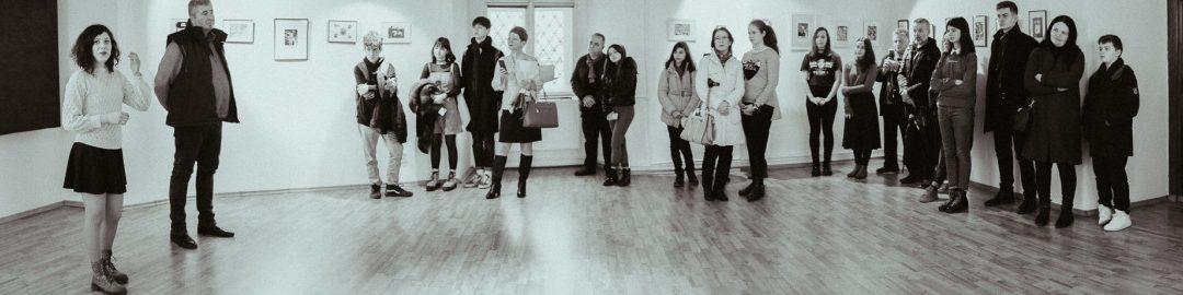 Printmania: expoziție de gravură în Baia Mare