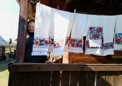 Tradiții maramureșene…în aste vremuri cu baiuri: din Ieud, Anuța lu' Bufu – Ieud, 3 aprilie 2020