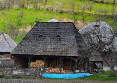 Căsuță de lemn, Botiza - Foto Felician Săteanu