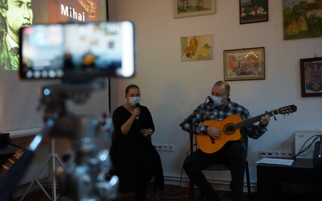 Lirica eminesciană și muzica românească, aniversate într-un eveniment al Școlii Populare de Artă