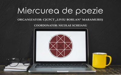 Miercurea de poezie online  cu poete și poeți români din Italia